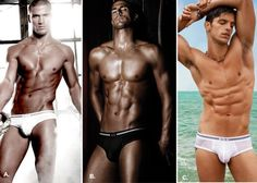 A|X Armani Exchange  A|X HOT SHOT: MODEL POLL  Which one of these super-hot male models do you think rocked his confidence best in his Armani Exchange underwear campaign?    A. Kerry Degman   B. Clint Mauro   C. Miro Moreira