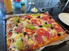schnelle leckere Pizza « kochen & backen leicht gemacht mit Schritt für Schritt Bilder von & mit Slava