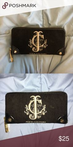 Black Juicy Couture Wallet 👛 Black Juicy Couture Wallet Juicy Couture Bags Wallets