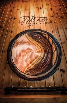 Copper Art from Patrick Shannon of Forest Edge Gallery in Vergas, MN complement any lake cabin. Image by J. Alan Paul Photography