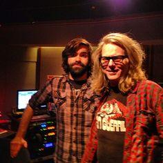 Brad k Dollar & Mike Mcginn @tri_studios control room gods!