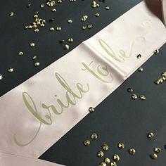 Champagne and Gold Bride to Be Bachelorette Party Sash Wh... https://www.amazon.com/dp/B01MG5CEIL/ref=cm_sw_r_pi_dp_x_pIEkybXBKNHHA