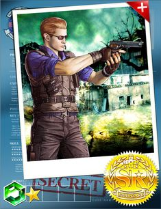 Albert Wesker BIOHAZARD Team Survivor RERemake