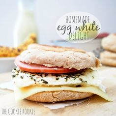White Delight Copycat i am OBSESSED with mcdonalds egg white delights! super easy, delicious, and healthy!i am OBSESSED with mcdonalds egg white delights! super easy, delicious, and healthy! Egg White Breakfast, What's For Breakfast, Breakfast Recipes, Breakfast Healthy, Breakfast Items, Homemade Breakfast, Egg White Delight Recipe, Sandwiches, Mcdonalds Recipes