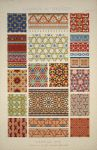 Gorgious collection! From the NYPL Digital Gallery. Collection title: The grammar of ornament / Owen Jones