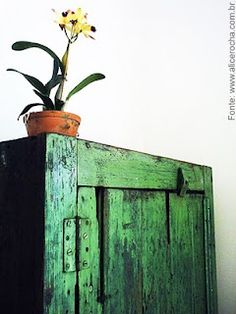 Greens and blues weather to beautiful patinas
