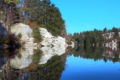 Minnewaska Preserve, NY. An easy, yet unbelievable 12 mile hike around beautiful lakes and breath-taking views.