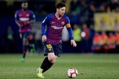 Villarreal v FC Barcelona - La Liga Santander Messi Goal Video, Lionel Messi, Fc Barcelona, Messi Goals, Uefa Champions, High Resolution Picture, The League