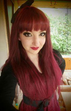 couleur cheveux rouge couleur cheveux rouge il a beaucoup de nuances et connotations que vous pouvez - Coloration Cheveux Rouge Framboise