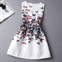 Estilo de Verano 2015 de las mujeres de moda A-Line partido de tarde maxi vestidos casuales de la vendimia sin mangas de impresión Vestidos vestido de festa (China (continental))