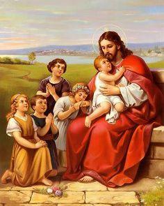 Gesù con i bimbi