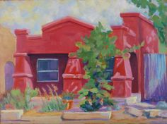 Barrio Red House Won Second Place at the Spring TPAPS show Plaza Palomino Tucson AZ