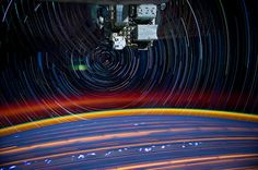 Star Trails: Incredible Long Exposure Photographs Shot from Space