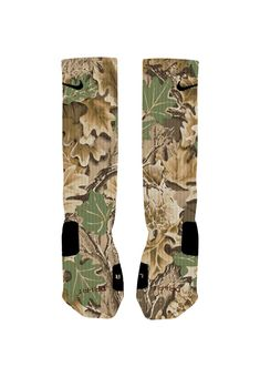 Custom designed Camo socks with reinforced toe and heel for extra comfort and support. Available in Adidas or Nike Elites. We custom design and