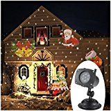 TOMSHINE Wall Landscape Projector Lamp Rotating LED Light 12 Patterns Pumpkin/Ghost/Heart/Snowflake 12 Replaceable... christmas deals week