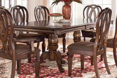 Hamlyn Double Pedestal Dining Table