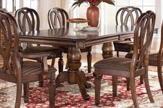 Hamlyn Double Pedestal Dining Table