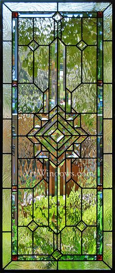 Norco Color Cluster Dance, Art Windows Custom Stained Glass