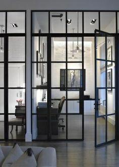 Soho Loft | Heiberg Cummings - industrial windows by isabel