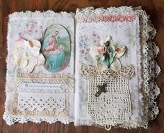 love the materials used and the flowers