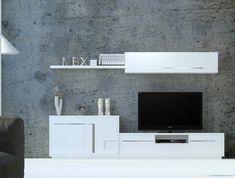 Ideas para lograr un salón de diseño con bajo presupuesto. Muebles de salón, composiciones para tv
