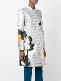 Mary Katrantzou пальто А-образного кроя