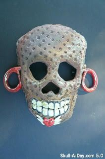 Skull-A-Day is the creation of artist Noah Scalin.