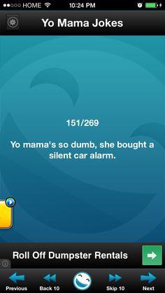 Yo mama joke Your Mama Jokes, Yo Momma Jokes, Moma Jokes, Funny Jokes, Hilarious, Baby Name List, Baby Names, Dankest Memes, Dumb And Dumber