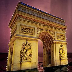 This Lights Arc de Triomphe is a replica of the Parisian masterpiece that allows you to bring the City of Light direct to you.
