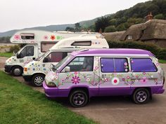 Love And Peace Vinyl Car Camper Van Stickers By Hippy Motors Http - Vinyl decals for cars uk