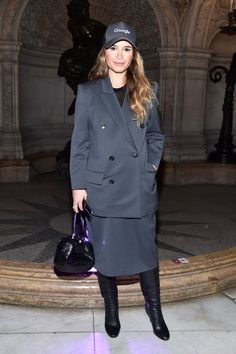 Miroslava Duma attends the Stella McCartney show as part of the Paris Fashion Week Womenswear Fall/Winter 2017/2018 on March 6, 2017 in Paris, France.
