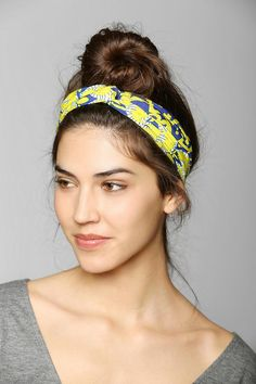 Reversible Print Headwrap #urbanoutfitters