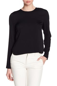 Tie Back Keyhole Blouse by Nicole Miller on @nordstrom_rack
