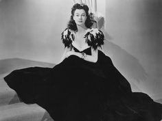 Vivien Leigh's gown for the Junior League Ball in Atlanta.