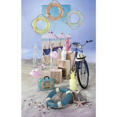 Dekoidee Retro #Beach, mit dem Sommer-Trendtier #Flamingo und vieles mehr!  https://www.decowoerner.com/de/Saison-Deko-10715/Sommer-10744/Komplette-Dekoideen-Sommer-11325/Dekoidee-Retro-Beach-659.086.00.html