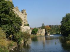 Warwick Castle on the Avon River