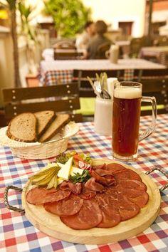 Zwetschgenbaames (Bamberg smoked ham speciality)