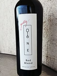 Gently One Blend 2011 Cabernet Sauvignon, Sirah, Malbec and Carménère.  Mix Valley Chile