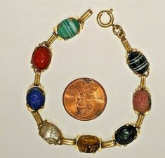 120 12KGF Vintage Seashell Necklace /& Earrings Set ~ Auto-Made