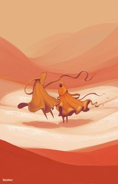 ppunchbuggy: Journey. If you follow this board you love art - if you love art you will love Journey (PS3 game) -CF