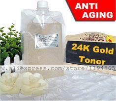 1 KG de folha de ouro 24 K de cuidados da pele soro Anti envelhecimento rugas 1000 ml Whitening Mosturizing salão de beleza equipamentos atacado alishoppbrasil