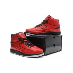 d512d0908cb12c Air Jordan 2 Retro QF Varsity Red Black Red