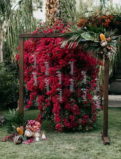 Wedding Designs Our Favorite Wedding Decor Details from 2017 - bougainvillea seating chart Wedding Ceremony Ideas, Wedding Signage, Wedding Trends, Wedding Designs, Wedding Table, Rustic Wedding, Low Key Wedding, Wedding Pics, Dream Wedding