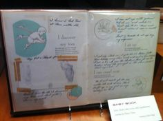 Patsy Cline exhibit-Country Music Hall of Fame - daughter Julie's baby book
