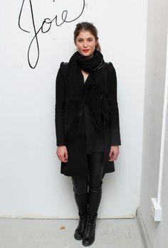 Gemma Arterton - black layers