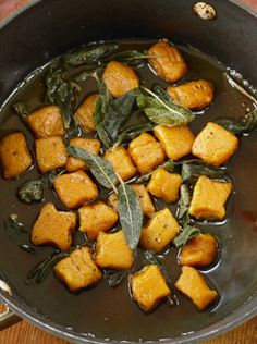 Sweet Potato Gnocchi with Sage Butter from Chloe's Kitchen/ Vegan