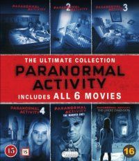 Paranormal Activity - Complete Collection (Blu-ray) 24,95e