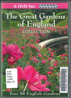 (DVD) The Great Gardens of England Collection - Discs 1-6