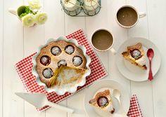 Ricotta plum cake - Bizcocho de ciruelas y ricotta