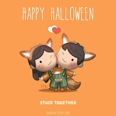 """but not actually being """"stuck together"""" nopers! But being with each other all the time YesYesYes! Drawings Of Love Couples, Love Drawings, Disney Drawings, Cartoon Drawings, Funny Drawings, Cartoon Images, I Love You Honey, Love Is Sweet, Cute Love Stories"""
